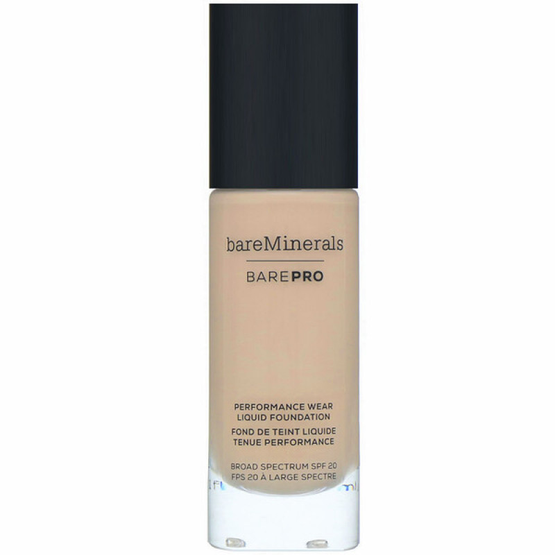 bareMinerals, BAREPRO, Performance Wear, Liquid Foundation, SPF 20, Sandalwood 15, 1 fl oz (30 ml)