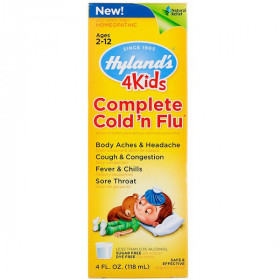 4Kids, Complete Cold 'n Flu, 4 fl oz (118 ml)