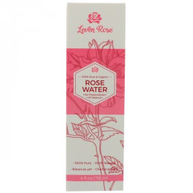 100% Pure & Organic Rose Water , 4 fl oz (118 ml)