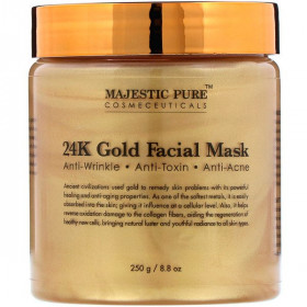 24K Gold Facial Mask, 8.8 oz (250 g)