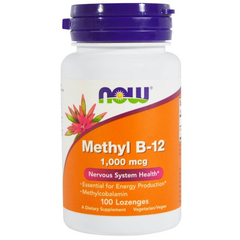 Methyl B-12, 1,000 mcg, 100 Lozenges