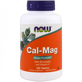 Cal-Mag, Stress Formula, 100 Tablets