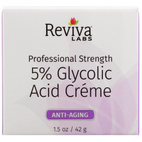 5% Glycolic Acid Cream, Anti Aging, 1.5 oz (42 g)