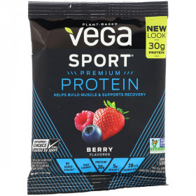 Sport, Performance Protein Drink Mix, Berry Flavor, 1.5 oz (42 g)
